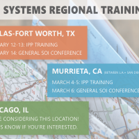 SOI Regional Training Registration is OPEN!