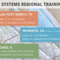 SOI Regional Training Registration is OPEN!